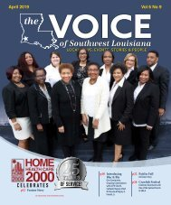 The Voice of Southwest Louisiana April 2019 Issue