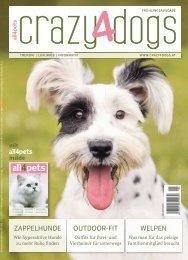 crazy4dogs mit all4pets inside – Frühlingsausgabe 2019