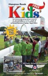 Hampton Roads Kids' Directory: April 2019