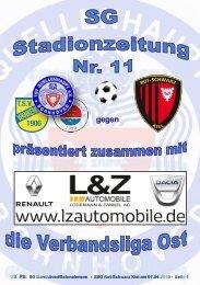 TSV  Stadionzeitung 11-RSK-070419