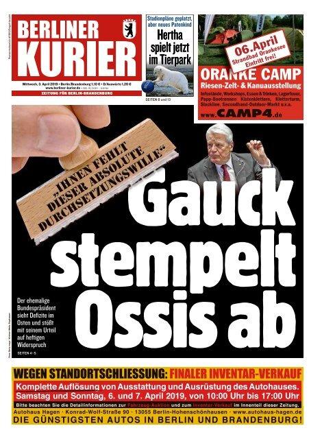 Berliner Kurier 03.04.2019