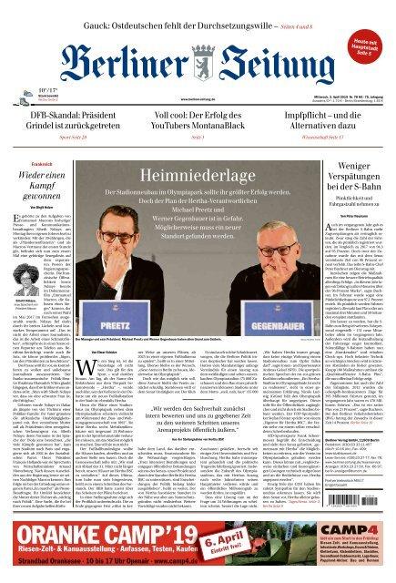 Berliner Zeitung 03.04.2019