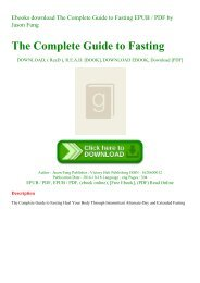 Ebooks download The Complete Guide to Fasting EPUB  PDF by Jason Fung