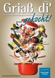 Griaß di Kochbuch Memmingen