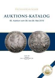 85. Auktion - Münzen & Medaillen - Emporium Hamburg