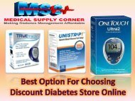 Best Option For Choosing Discount Diabetes Store Online
