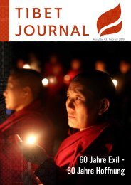 Tibet Journal Ausgabe 43 / Februar 2019