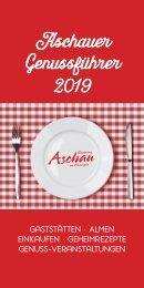 Genussort 2019 Aschau im Chiemgau