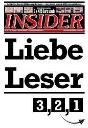 INSIDER Osnabrück // April 2019 // No. 429