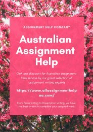 All Assignment Help AU