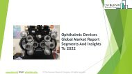 Ophthalmic Devices Global Market Report 2019