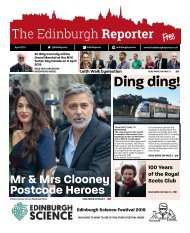 The Edinburgh Reporter April 2019 issue