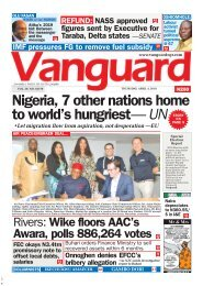 04042019 - Nigeria 7 other nstions home to world's hungriest - UN