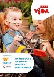 Kinderreha Broschüre VIDA 2020