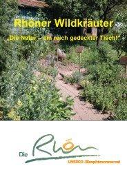 Rhöner Wildkräuter - Biosphärenreservat Rhön