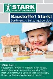 Leistungsübersicht der Wilhelm Stark Baustoffe GmbH