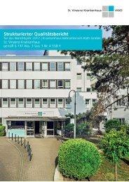 Qualitätsbericht 2017 - St. Vinzenz-Krankenhaus