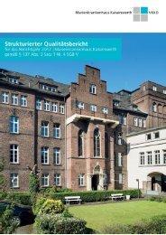 Qualitätsbericht 2017 - Gesamtbericht Krankenhaus Mörsenbroich-Rath GmbH (KMR)
