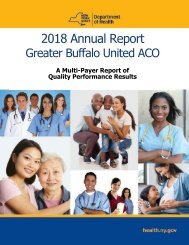 2018 Annual Report Greater Buffalo United ACO