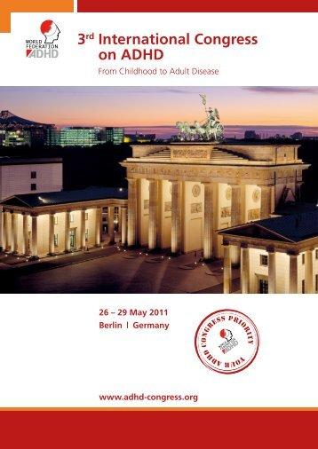 Germany 3rd International Congress on ADHD - World Federation of ...