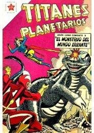 TITANES PLANETARIOS - N°94 - Agosto 1961