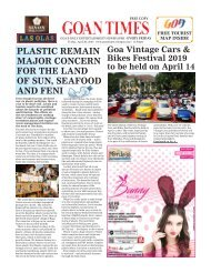 GoanTimes April, 5 2019 issue