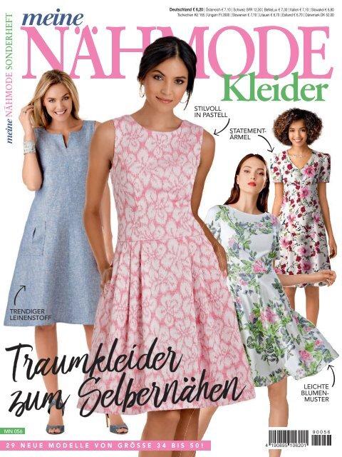 Meine Nähmode Kleider (MN056) - Blick ins Heft