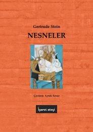 Gertrude Stein - Nesneler