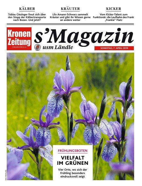 s'Magazin usm Ländle, 7. April 2019
