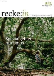 recke:in - Das Magazin der Graf Recke Stiftung   Ausgabe 1/2019