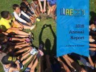 Annual Report 2018 - REGEN Foundation