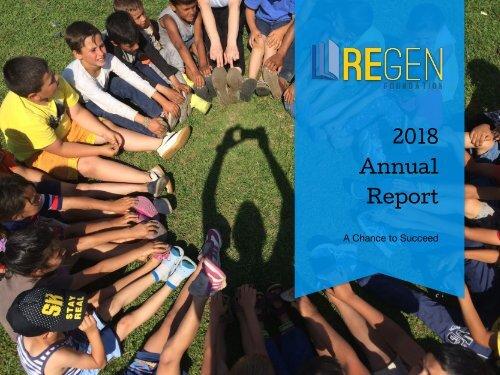 Annual Report 2018 - REGEN Foundation