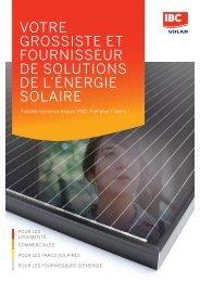 VOTRA GROSSISTE ET FOURNISSEUR DE SOLUTIONS DE L'ÉNERGIE SOLAIRE