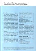 Eine epidemiolngische Beobachtung mittels Spirometrie in der ... - Seite 2