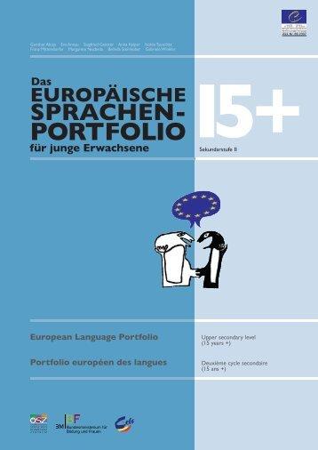 DAS Europäische Sprachen Portfolio für junge Erwachsene