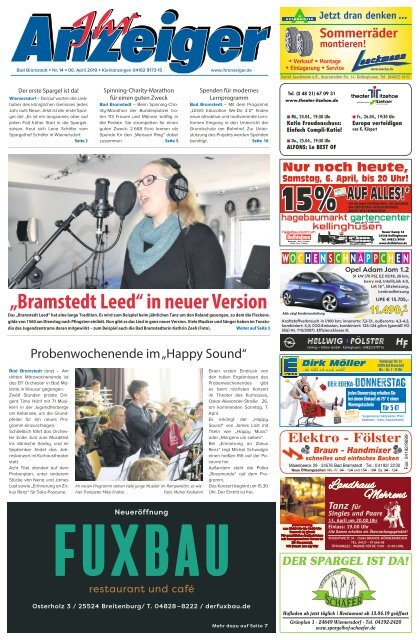 Ihr Anzeiger Bad Bramstedt 14 2019