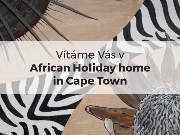 African Holiday home in Cape Town