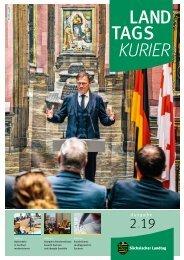 Landtagskurier, Ausgabe 2/2019