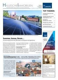 Hallesche Immobilien Zeitung 82 April 2019 immoHAL