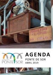 Agenda Ponte de Sor - abril 2019