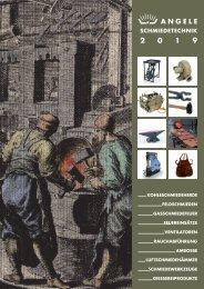 Angele Schmiedetechnik Katalog 2019