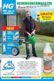 HG-Reinigungsmittel Frühjahr 2019 bei Eisen-Krais in Münnerstadt