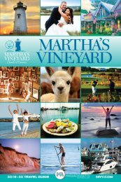 2019-20 Martha's Vineyard Travel Guide