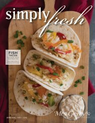 Simply Fresh 2019 April, May, and June