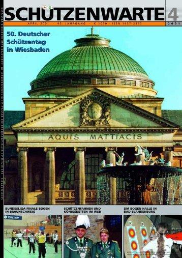 Z eitraster D eutsche M eisterschaft 2001 - Schützenwarte - WSB