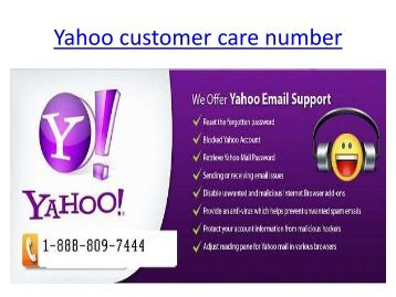 Yahoo-customer-care-number