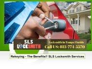 Rekeying - The Benefits!! SLS Locksmith Services