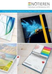 Individuelle Haftnotizen und Notizbücher als Werbemittel