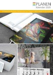 Werbekalender, Kalender als Werbemittel, individuell bedruckt, in Ihrem Design