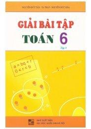 Giải bài tập toán 6 - 2 tập - Nguyễn Đức Tấn